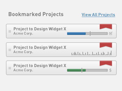 Zeggio Project Progress progress widget application