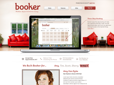 Booker Marketing Website booker marketing website