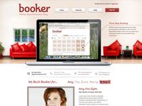 Booker Marketing Website