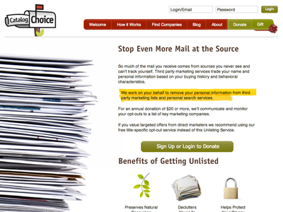 More Information web page design layout