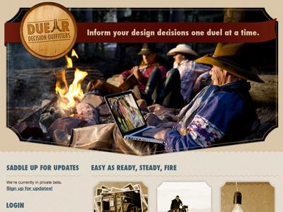 Duellr Design web design western