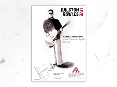 Concert Poster poster concert ralston