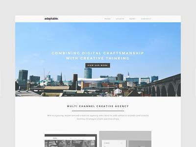 adaptable website adaptable website responsive minimal clean simple