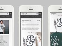 P&Co Website