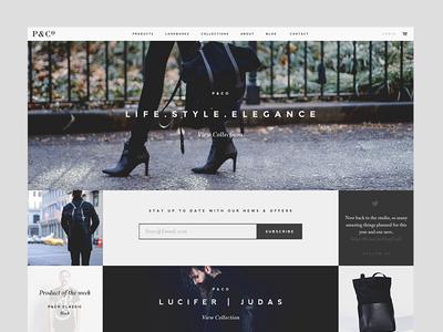 P&Co Final Homepage