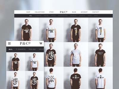 P&Co Clothing Website