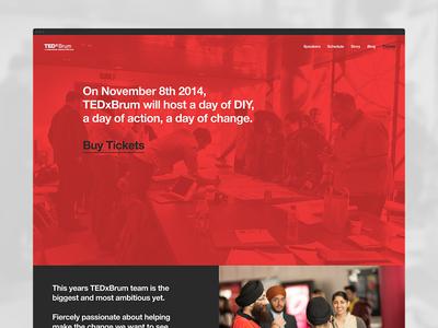 TEDxBrum Website