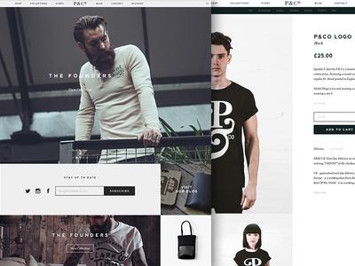P&Co Website Launch