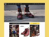 Dr.Martens Homepage