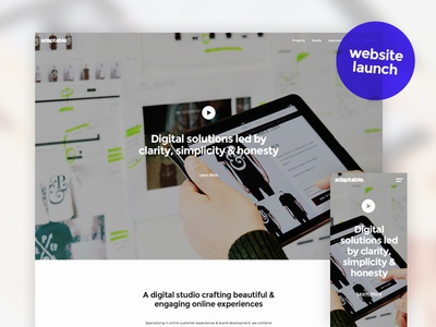 adaptable. adaptable website new hero home video birmingham studio digital