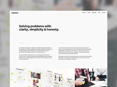 adaptable studio digital studio birmingham video home hero new website adaptable