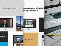adaptable website process
