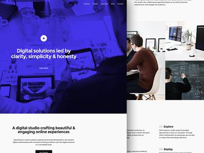 adaptable site refresh adaptable website new hero home video birmingham studio digital