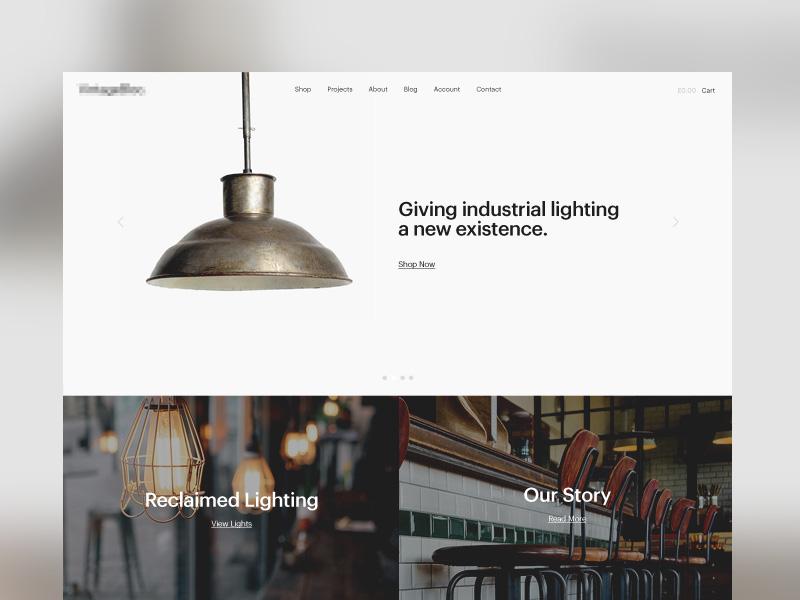 Reclaimed Lighting Homepage
