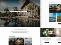 Luxury Accommodation Website