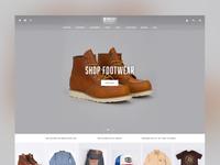 eCommerce Homepage