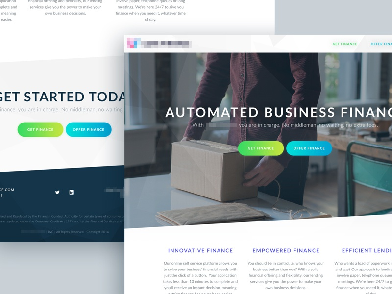 Finance Website typography minimal simple whitespace grid hero home ux ui