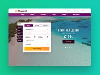 Monarch Homepage UI