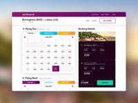 Monarch Booking UI