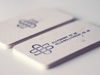 Business card reverse