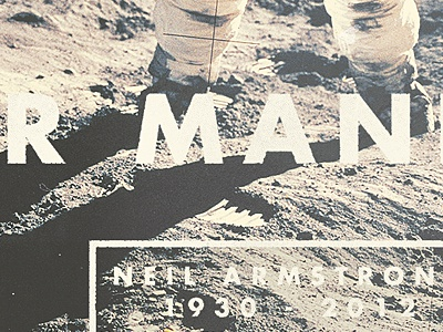 RIP Neil Armstrong rip neil armstrong space moon quote typography