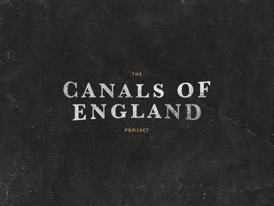 Canals Of England Project.