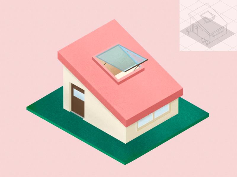 2.5D house building 2.5d