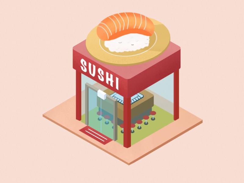 2.5d sushi place