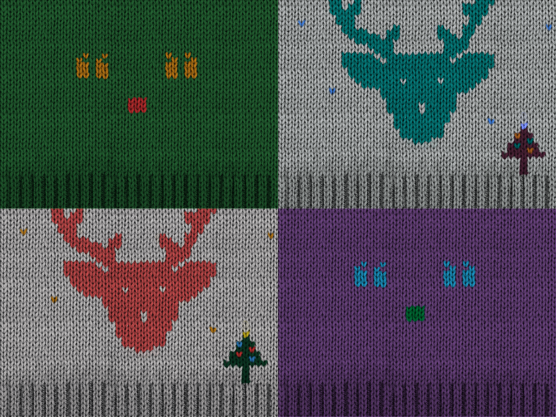 Christmas sweater christmas illustration
