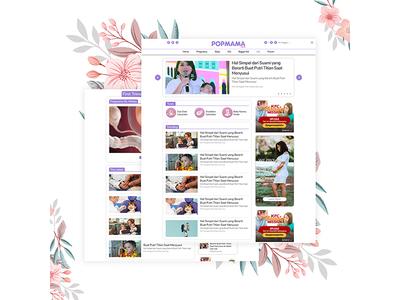 PARENTING WEBSITE LANDING PAGE