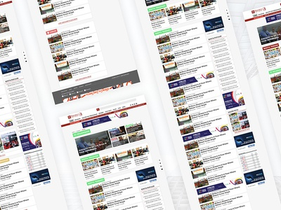 UI DESIGN NEWS WEBSITE