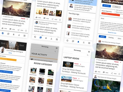 USER INTERFACE DESIGN FOR GROUP AND COMMUNNITY