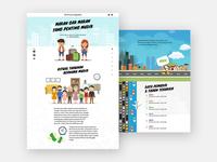 UI & UX Design Parallax Website