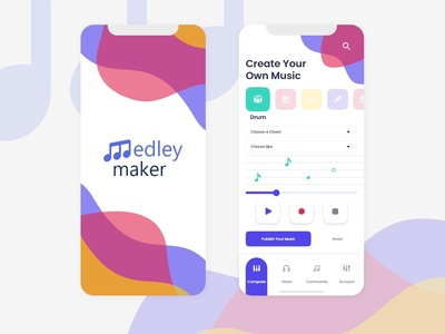 Music Maker App - Daily Creative Challenge - Day 1