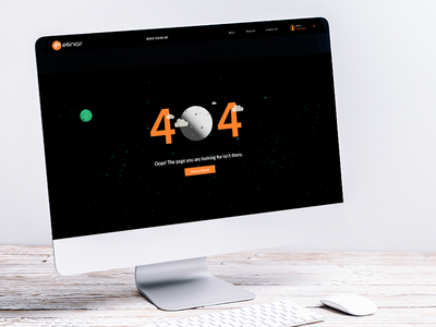 web page for 404