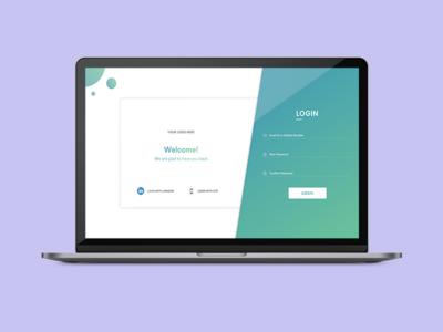 Login Card - Web