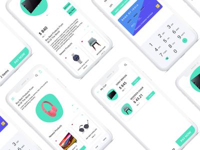 E Commerce App Concept