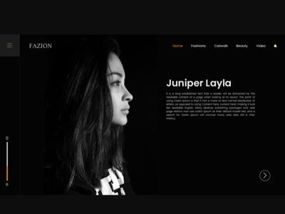 FAZION - Landing Page