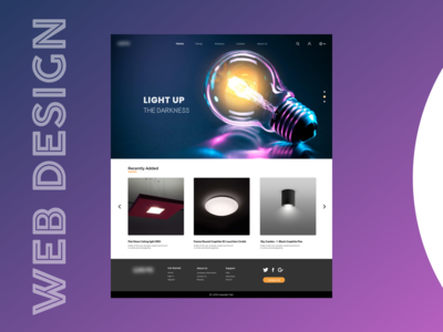 LIGHTS UP - webdesign