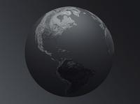 Worldview branding webgl globe