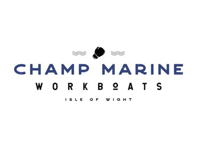 Champ Marine Workboats // Logo Design