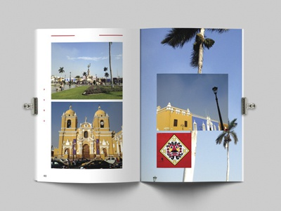 Quito > Rio Photo Journal // Layout