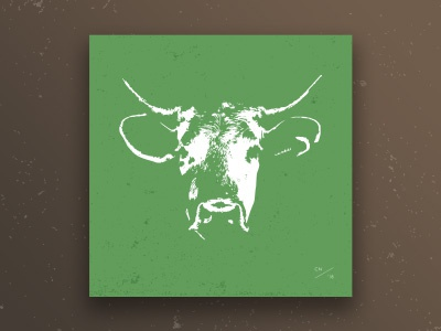 Cow Head // Giclée Art Print
