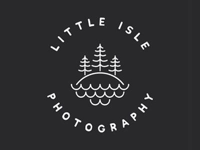 Little Isle Photography // Logo Design
