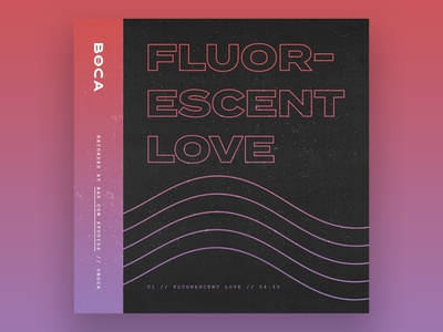 Fluorescent Love // Album Art