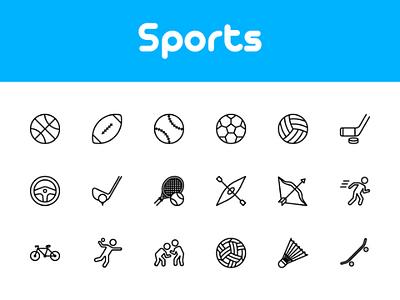 Sports icon icon design sport design