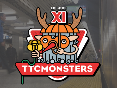 Logo for instagram show ttcmonsters