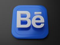 Behance | Big Sur App Icon blender logo behance apple skeumorphism big sur icon 3d app icon