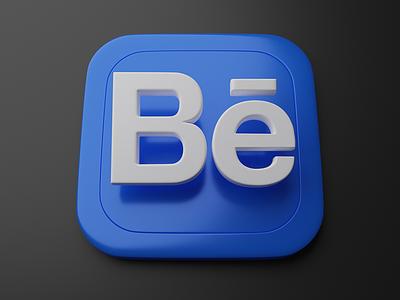 Behance   Big Sur App Icon blender logo behance apple skeumorphism big sur icon 3d app icon