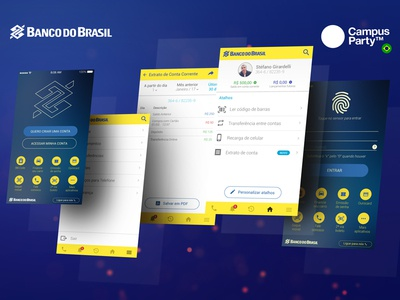 UX Challenge - Banco do Brasil experience user interface design brasil do banco ui challenge ux